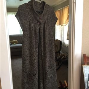 BCBG Maxazria Long Sweater Vest